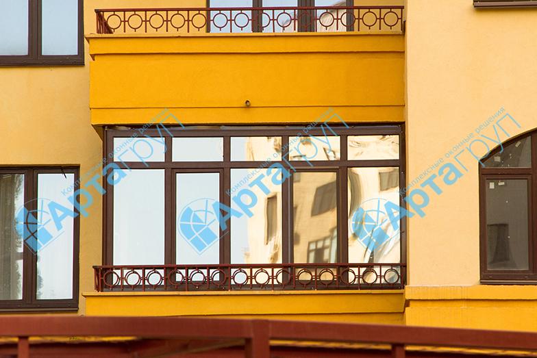 Ламинированные балконы      Арта Груп - фото 1