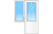 Металлопластиковые двери для дома или офиса