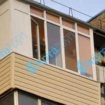 Обшивка балкона Арта Груп - фото 1