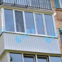 Обшивка балкона Арта Груп - фото 2