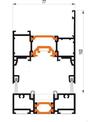 Схема Дверь гармошка Арта Груп -фото 3