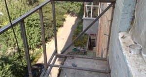 вынос балкона - фото