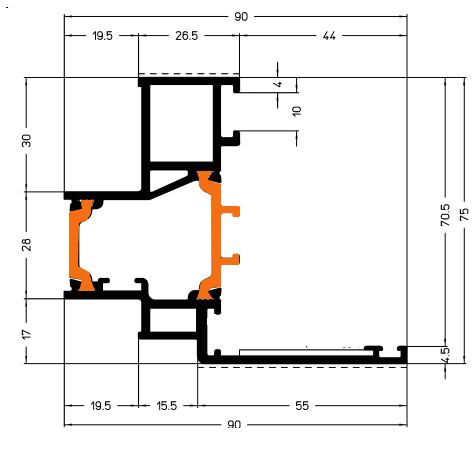 Схема Фасады Арта Груп - фото 5