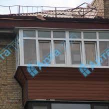 Обшивка балкону Арта груп - фото 5