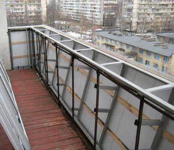 Балконные ограждения. 1