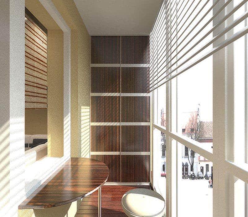 Шкафы на балкон Арта Груп - фото 1