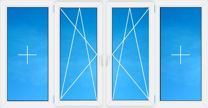 схема остекления балкона фото 3