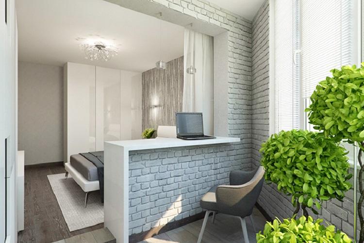 объединить балкон с комнатой 1